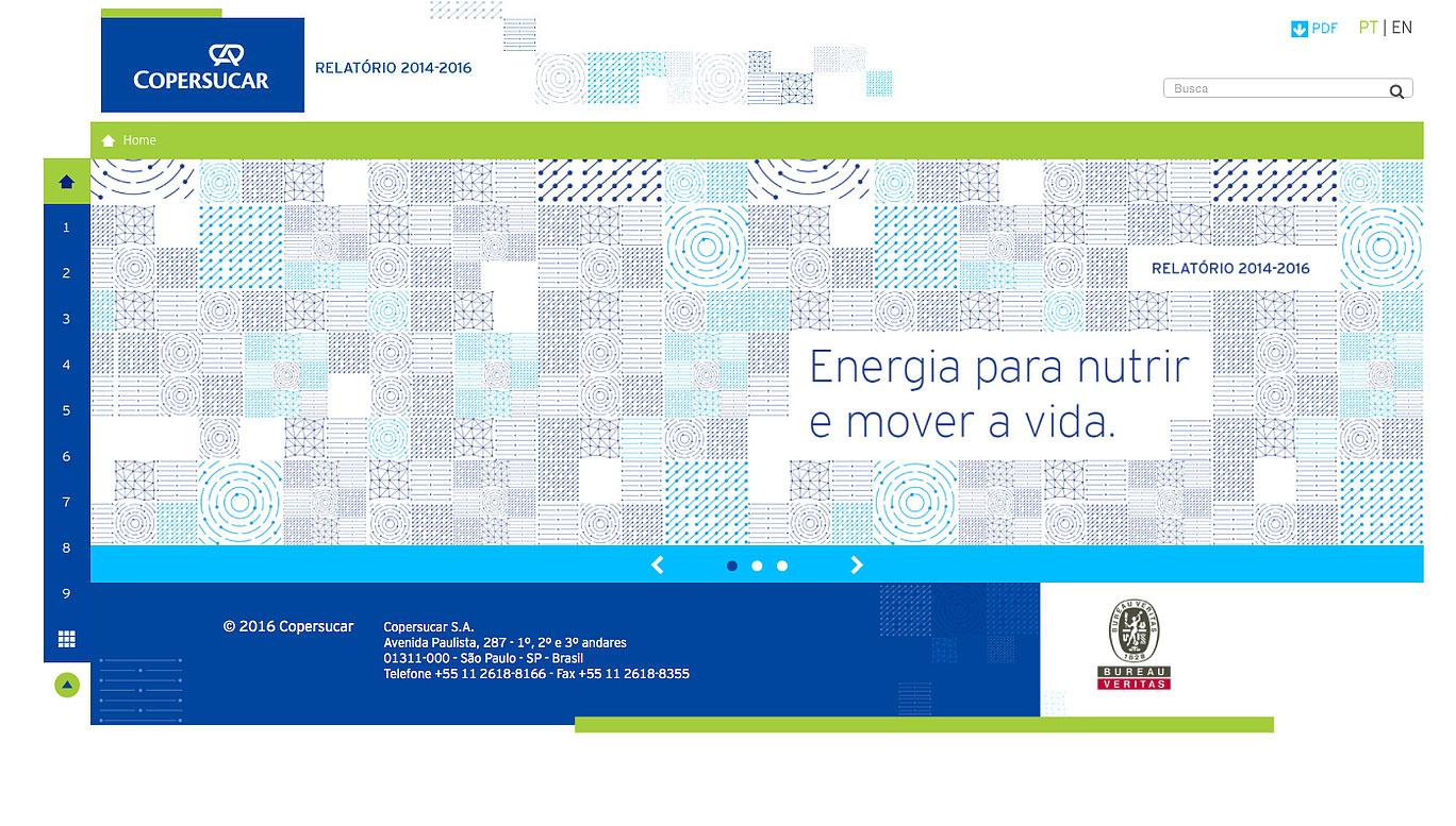 Copersucar- Relatório 2014 - 2016