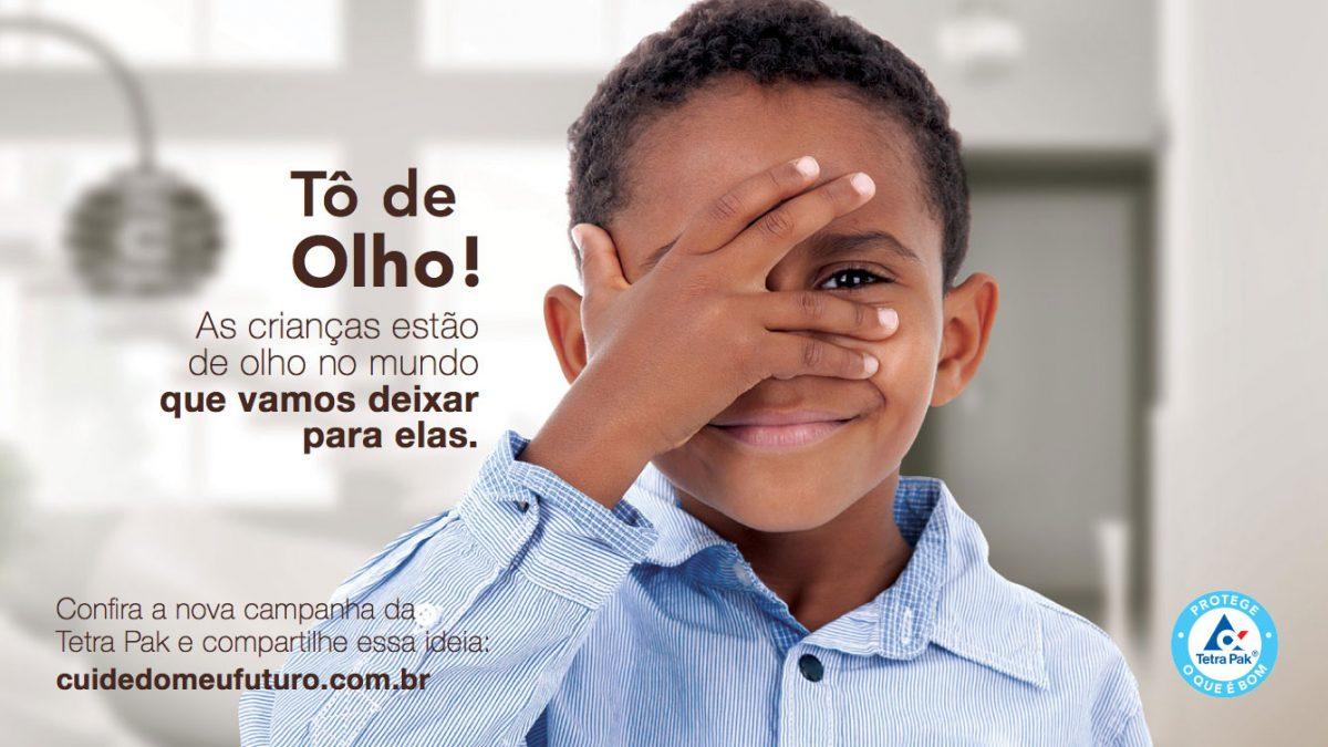 Pop up Campanha Tô de Olho