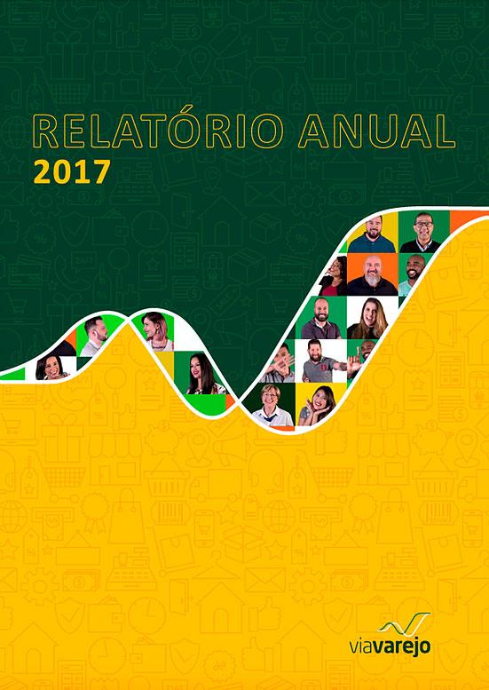 Via Varejo - Relatório anual 2017
