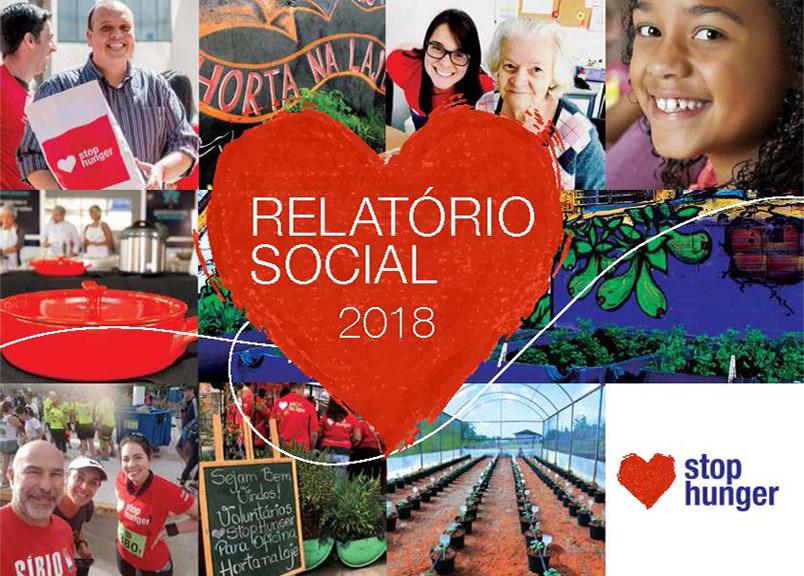 Stop Hunger - Relatório Social 2018